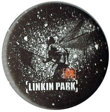 Official Linkin Park LP Black Red White Flag Logo Badge 1.5 inch 38mm