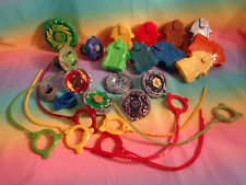 Lot Beyblade Metal Masters Tops Launchers Parts & Pieces Rip Cords