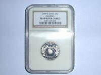 1999-S Clad 25C Proof Georgia State Quarter NGC PF 69UC