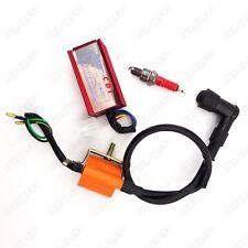 Racing Ignition Coil CDI Spark Plug For 50 70 90 110cc Taotao ATV Quad 4 Wheeler