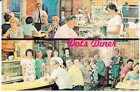 "Gordo IL ""Dot's 24 Hour Diner"" Restaurant New Postcard Illinois *FREE US SHIP"