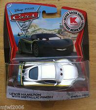Disney PIXAR Cars 2 SILVER RACER SERIES Kmart LEWIS HAMILTON METALLIC DAY 9
