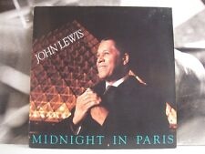 JOHN LEWIS - MIDNIGHT IN PARIS - LP EXCELLENT+ COVER EXCELLENT