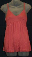 PETIT BATEAU Womens Pink Tank Top 94526 Sz 18 Years L NEW $42