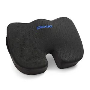 Plixio Memory Foam Coccyx Tailbone Seat Cushion Orthopedic Non-Slip Chair Pillow