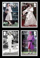 South Georgia 2016 Queens 90th Birthday 4v set MNH