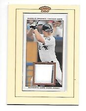 MAGGLIO ORDONEZ 2002 TOPPS 206 GAME WORN JERSEY #TR-MO FREE COMBINED S/H