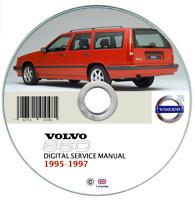 Volvo 850 (1995-1997) manuale officina workshop manual on cd