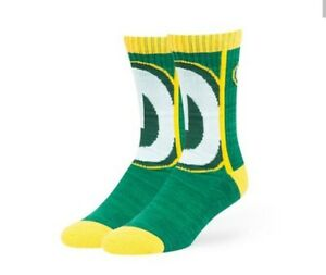 Green Bay Packers NFL Men's Crew Socks NWT by '47 Brand size Large