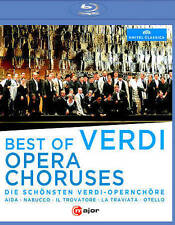 Best of Verdi  Opera Choruses [Blu-ray], New DVDs