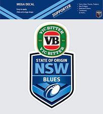 62851 NEW SOUTH WALES BLUES STATE OF ORIGIN CAR SPOT STICKER MEGA DECAL SOO NSW