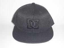DC Shoes PIN ENVY Hat Black Pinstriped S/M ($32) NEW Flex Cap Skate Moto MX 210