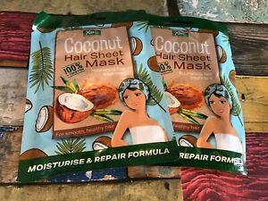 XBC Coconut hair sheet mask,NEW UK 2X