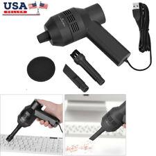 2in1 Mini Vacuum Cleaner Computer Keyboard Brush Dust Handheld Clean Tool Kit US