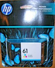 HP 61 Original OEM Tri-Color Ink Cartridge CH562WN DeskJet Envy OfficeJet NEW