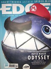 EDGE Magazine September 2017 Super Mario Odyssey Star Wars Battlefront II NEW 3