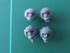 Tropa de choque Astra militarum Imperial guard cabeza x4 E