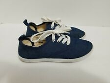 Twisted JR Tennis Shoes Girls Youth size 2 ~ Navy Blue