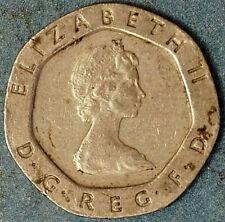 Great Britain 20 Pence 1983 Elizabeth II KM# 931 (G+105)