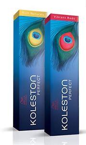koleston perfect coloration d'oxydation professionnelle pour cheveux Wella
