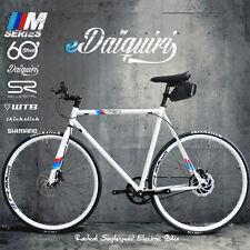 EBike Electric Bike 700c eDaiquiri  MLTD Single Speed Bicycle e-bike Size L 58cm
