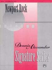 Newport Rock Dennis Alexander Songs Tunes Learn to Play Piano BOOK SHEET MUSIC