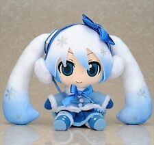 Gift VOCALOID Miku Hatsune 2012 Snow Miku Soft Toy Strap Fluffy Coat ver.