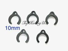 "5 PCS 10mm 3/8"" Plastic Clips for Cable Management RC Fuel/Air Lines TH021-01201"