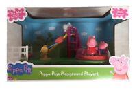 Peppa Pig Peppa's Aire de Jeux Jouet Set de Jeu Avec Figurines & Son