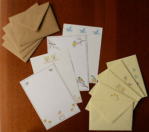 Letter Writing Set A5 Paper and Envelopes Optional Stationery Animal Gift Lined