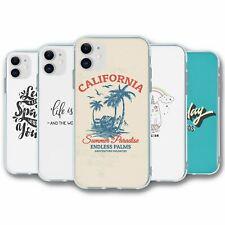 Para iPhone 11 Silicona Funda Cubierta de Texto Colección 5