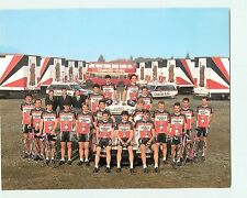 CYCLISME - Equipe CHATEAU d' AX  - Format 190 x 245 - 2 scans