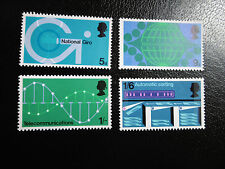 SG808-811 1969 Post Office Technology Communication. Mint Never Hinged Stamp Set