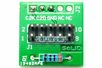10-Pin JTAG To 3-Pin Adapter For C2 Programmer