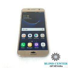 "Samsung Galaxy S7 SM-G930P, 5.1"", 32GB, Golden, Sprint *As Is"