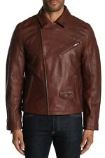 New UGG Men's Vaughn Motorcycle MOTO Leather Jacket 1095888 Size XS  Retail $895
