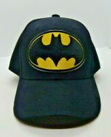 D/C Comics Batman Logo Black Snapback Adjustable Cap/Hat