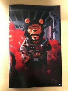 Do You Pooh Brzrkr #1 Grampa VIRGIN Homage Variant Marat Mychaels Keanu Reeves