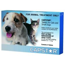 CAPSTAR Blue 6 Tablets for Small Dogs and Cats | FREE SHIPPING