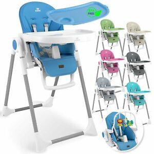 KIDIZ® 3in1 Hochstuhl Kinderhochstuhl Babyliege Kinderstuhl Hocker Essstuhl