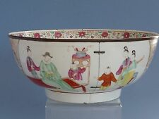 Qing Dynasty Yong Zheng Color  Figure Bowl