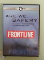 pbs frontline  ARE WE SAFER ? / FLYING CHEAPER / THE SPY WHO QUIT     DVD
