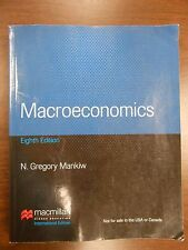 Macroeconomics by N. Gregory Mankiw (1994, Paperback, Student Edition of...