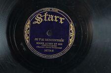 78 TOURS rpm -STARR-ROGER AUBRY-DIANE, MA FIANCÉE / JE T'AI RENCONTRÉE