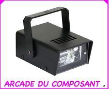 1 MINI STROBOSCOPE 20W  JEU DE LUMIERE - SOIREE DISCO (ref G011A) Poids 500g