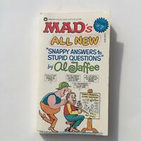 MAD's All New Snappy Answers to Stupid Questions Al Jaffee # 7 First Printing