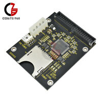 SD Memory To 3.5 Inch 40Pin Male IDE Hard Disk Drive HDD Card Adapter Converter