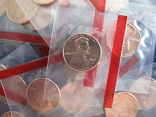 2005-D Lincoln Cent Roll of 50 Satin Cents BU in Plastic