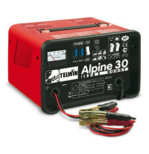 Caricabatterie carica batteria portatile TELWIN alpine 30 boost 230V 12-24V
