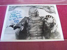 Ben Chapman Autographed The Original CREATURE FROM THE BLACK LAGOON 8x10 Photo